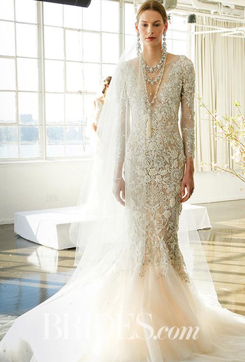 """Váy cưới đẹp tới mức """"phải nín thở"""" của Marchesa - 6"""