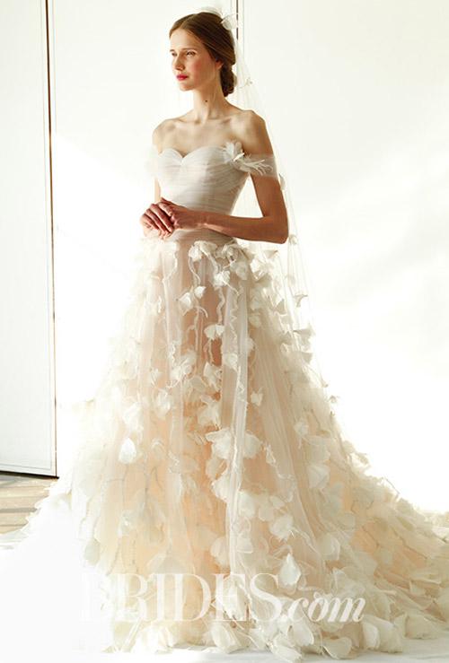 """Váy cưới đẹp tới mức """"phải nín thở"""" của Marchesa - 4"""