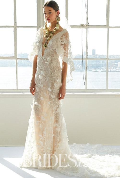 """Váy cưới đẹp tới mức """"phải nín thở"""" của Marchesa - 7"""