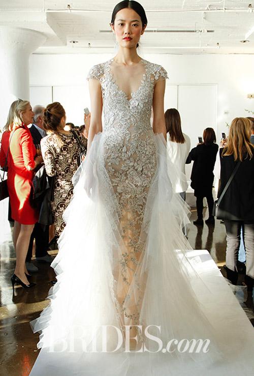 """Váy cưới đẹp tới mức """"phải nín thở"""" của Marchesa - 10"""