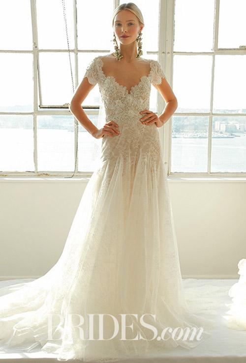 """Váy cưới đẹp tới mức """"phải nín thở"""" của Marchesa - 12"""