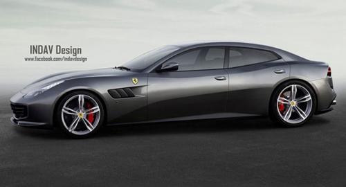 Ferrari sản xuất siêu xe hai cửa 4 chỗ ngồi? - 1