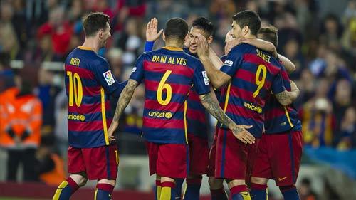 """Barca: Bị loại khỏi cúp C1 lại """"hóa hay"""" - 1"""