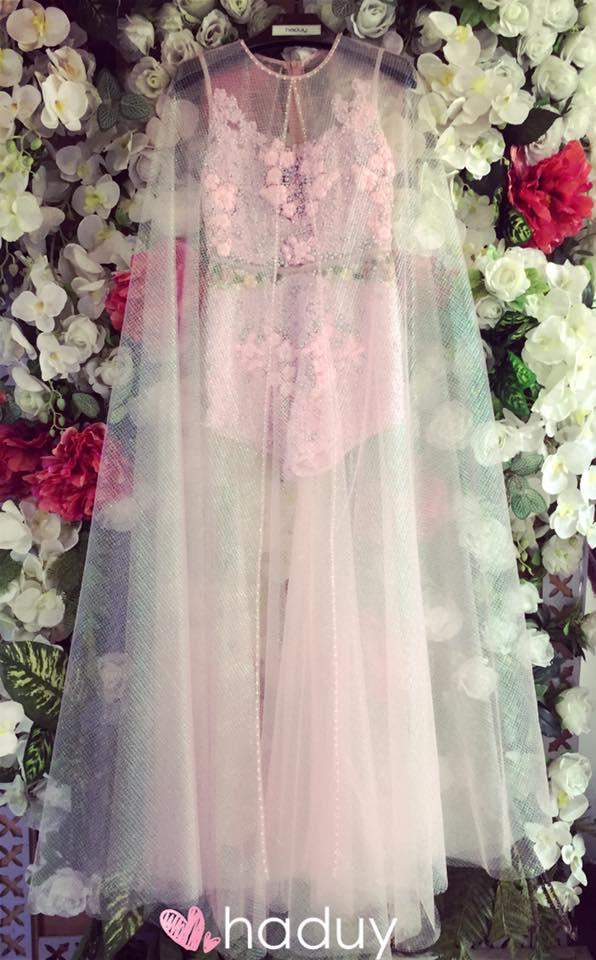 Váy hot nhất tuần: Đầm xuyên thấu bị chê của Kim Oanh - 4