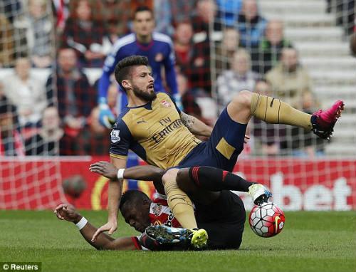 Video Sunderland vs Arsenal - Xem Video bàn thắng tỉ số - 1
