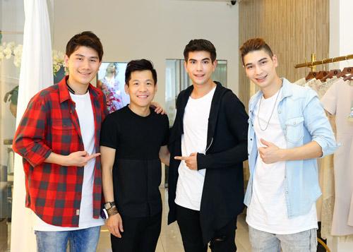Nhóm nhạc điển trai của Thái Lan bất ngờ đến Việt Nam - 7