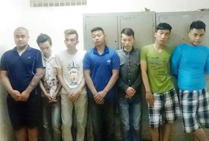 """Tạm giữ 8 quái xế trong """"tổ lái"""" đại náo Hà Nội - 1"""