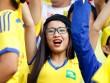 Fan nữ xinh SLNA & HAGL đọ sắc trên sân Pleiku