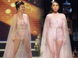 Váy hot nhất tuần: Đầm xuyên thấu bị chê của Kim Oanh