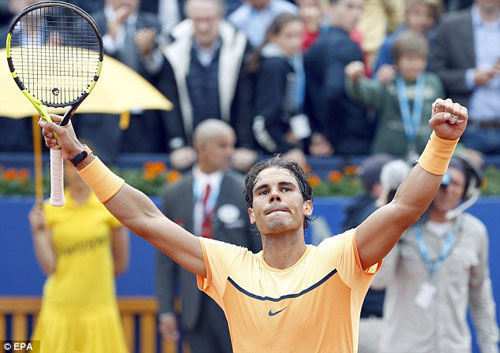 Nadal – Nishikori: Ngôi báu ngọt ngào (CK Barcelona Open) - 1