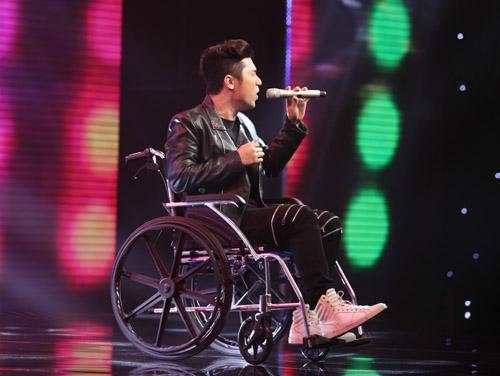 Yanbi bị gãy xương đùi vẫn diễn hết mình tại X-Factor - 2
