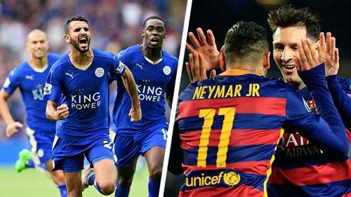 Leicester: Đá thế này thì sợ gì… Barca - 3