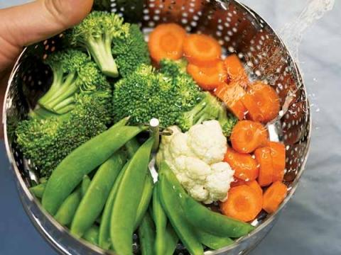 Thực phẩm xanh giúp chị em đốt cháy mỡ bụng hiệu quả - 5