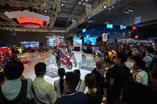 Chiêm ngưỡng xe máy tương lai của Honda - 1