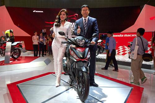 Chiêm ngưỡng xe máy tương lai của Honda - 2