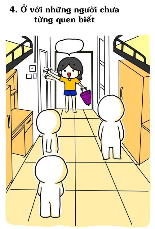 Truyện tranh: Chết cười với chuyện sinh viên năm nhất - 4