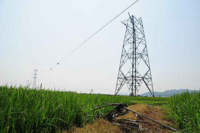 Ảnh: Phơi nắng giữa trời sửa cột điện 500kV đổ sập - 6