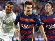 """Bóng đá - """"Hoa mắt"""" với kĩ năng của Messi, Ronaldo 2015/16"""