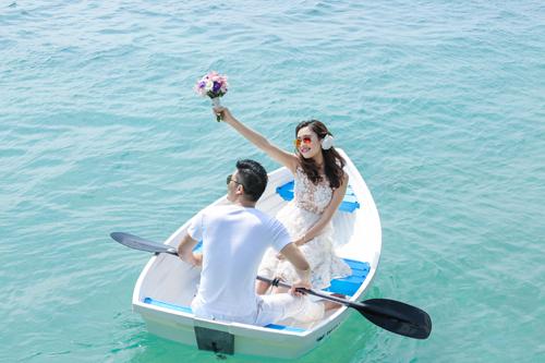 Bộ ảnh cưới tuyệt đẹp của á khôi Người đẹp Kinh Bắc - 2
