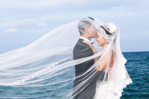 Bộ ảnh cưới tuyệt đẹp của á khôi Người đẹp Kinh Bắc - 1