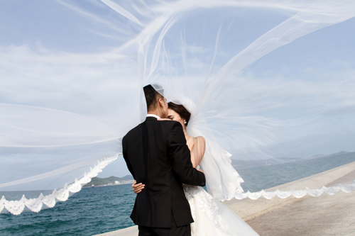 Bộ ảnh cưới tuyệt đẹp của á khôi Người đẹp Kinh Bắc - 9
