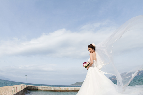 Bộ ảnh cưới tuyệt đẹp của á khôi Người đẹp Kinh Bắc - 7