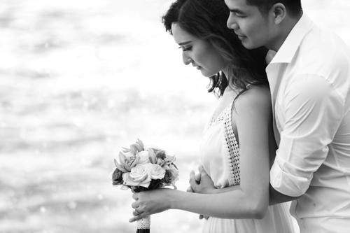 Bộ ảnh cưới tuyệt đẹp của á khôi Người đẹp Kinh Bắc - 8