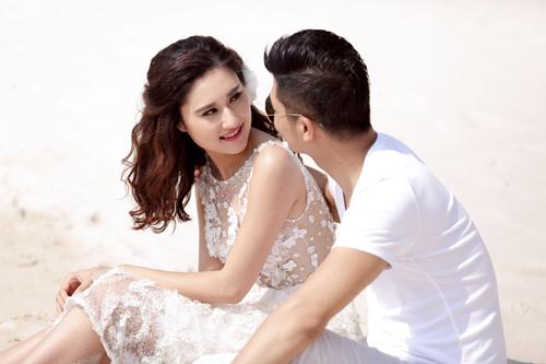 Bộ ảnh cưới tuyệt đẹp của á khôi Người đẹp Kinh Bắc - 5