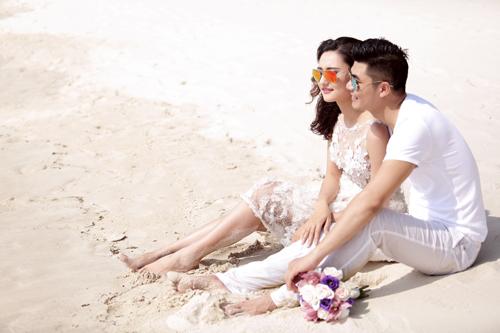 Bộ ảnh cưới tuyệt đẹp của á khôi Người đẹp Kinh Bắc - 6