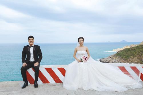 Bộ ảnh cưới tuyệt đẹp của á khôi Người đẹp Kinh Bắc - 11