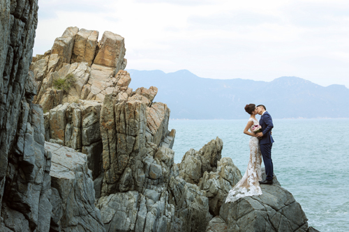 Bộ ảnh cưới tuyệt đẹp của á khôi Người đẹp Kinh Bắc - 12