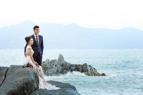 Bộ ảnh cưới tuyệt đẹp của á khôi Người đẹp Kinh Bắc - 13