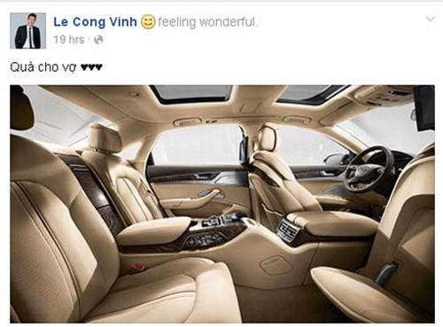 """Công Vinh """"bạo tay"""" mua xe 5 tỷ đồng tặng Thủy Tiên - 2"""