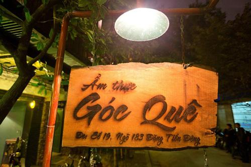 Nhà hàng Góc quê: Chuyến du hành về miền quê Việt trong từng món ăn - 1