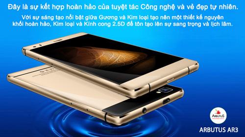 """Arbutus AR3 - smartphone giá rẻ """"đúng nghĩa"""" - 3"""