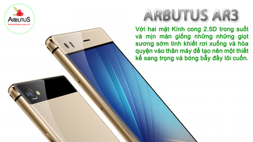 """Arbutus AR3 - smartphone giá rẻ """"đúng nghĩa"""" - 4"""