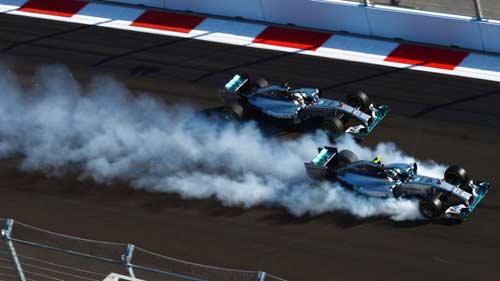 F1, Russian GP: Cơn thịnh nộ của Hamilton - 1