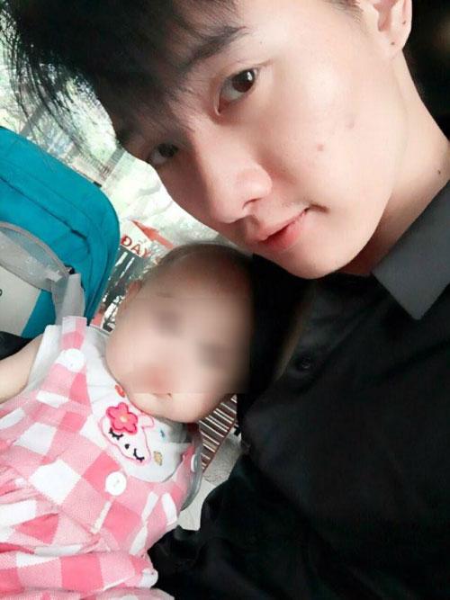 Ông bố trẻ uất nghẹn khi vợ mang con 4 tháng tới trả - 1