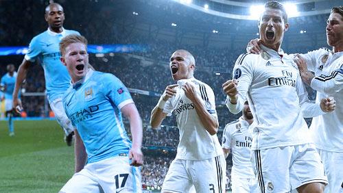 Man City - Real Madrid : Trái tim nóng cái đầu lạnh 1h45 27-4 - 1