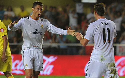 Man City - Real Madrid lượt đi bán kết C1 - 2