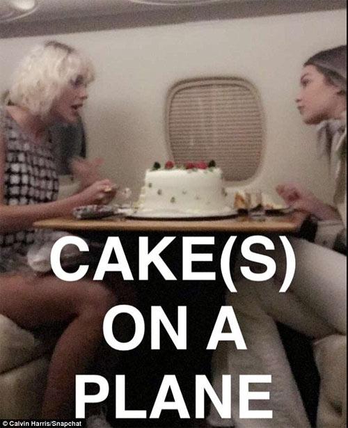 Gigi Hadid đón sinh nhật trên phi cơ của Taylor Swift - 3