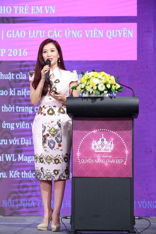 Á hậu Thu Hương gây quỹ xóa nạn mù bơi cho trẻ em - 2