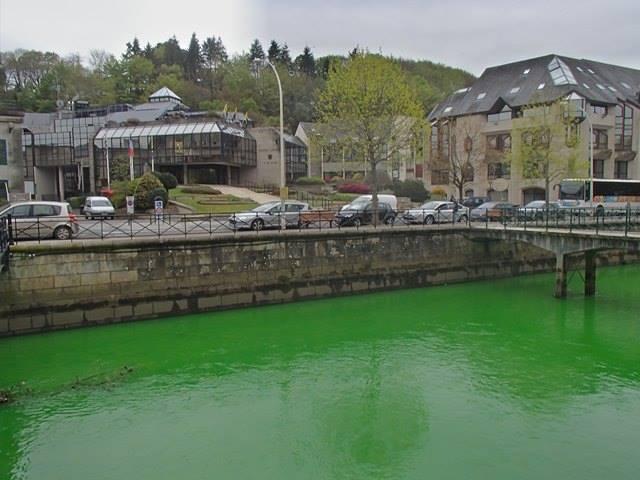 Người Pháp tự nhuộm hàng loạt sông thành màu xanh lè - 3