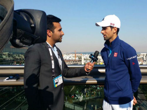 Djokovic luyện công, chờ Nadal ở Madrid Masters - 1