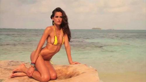 """Vẻ đẹp sexy của mỹ nhân Brazil """"nghiện"""" bikini siêu nhỏ - 5"""