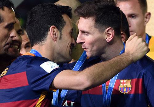 """Sergio Busquets: Người """"trợ lý"""" vĩ đại của Messi - 1"""
