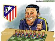 """Bóng đá - Diego Simeone: """"Phù thủy"""" đích thực của Atletico"""