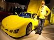 300 triệu VNĐ: Ông lão tự chế siêu xe thể thao