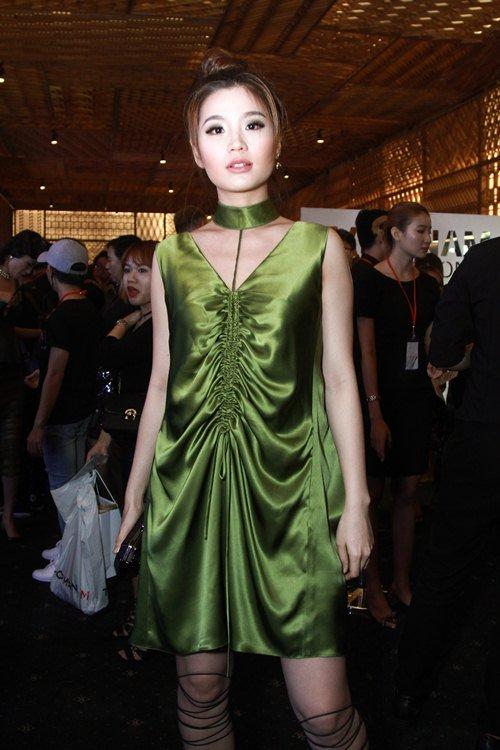 Thảm đỏ toàn hoa hậu bế mạc Tuần thời trang - 9