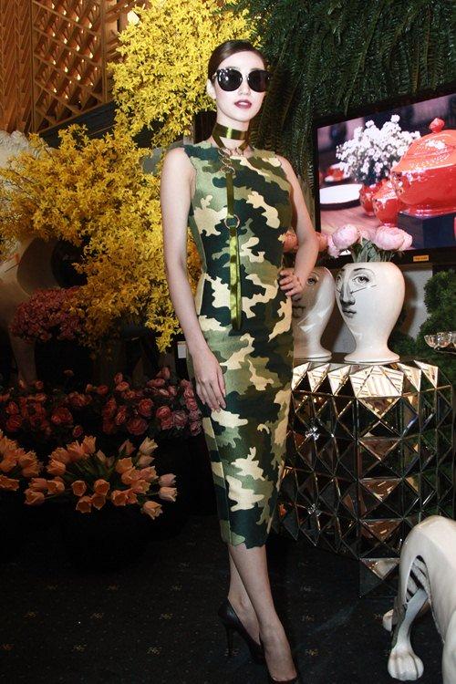 Thảm đỏ toàn hoa hậu bế mạc Tuần thời trang - 10